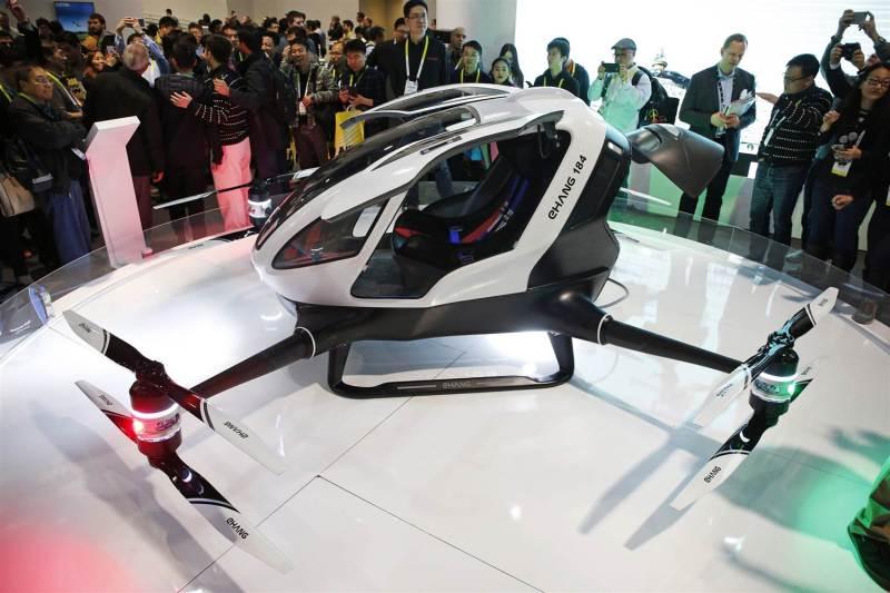 """""""EHang 184, el nuevo Drone que transportapersonas"""""""
